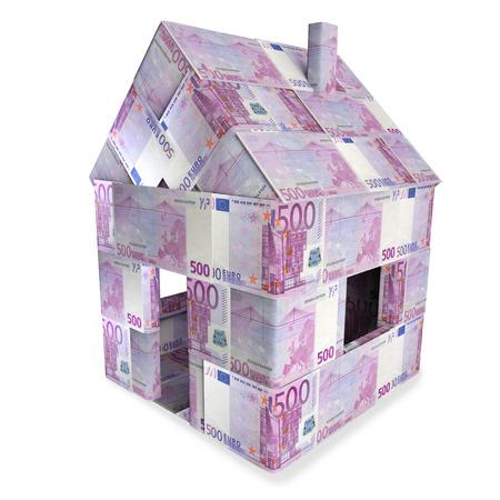 severance: Casa hecha de billetes de 500 euros