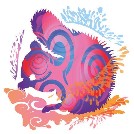 restlessness: Blob shadow squirrel