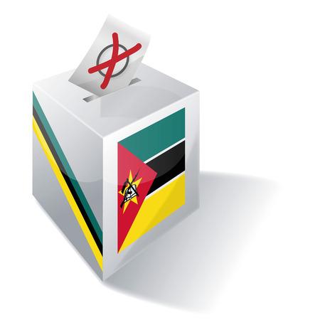 absentee: Ballot box Mozambique