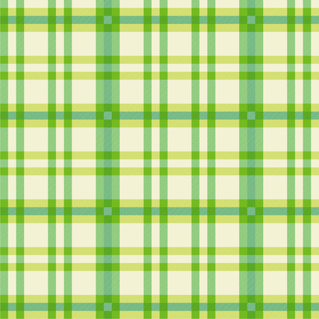 Cloth with green pattern  Stock Vector - 27709480