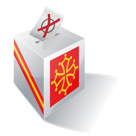 absentee: Ballot box