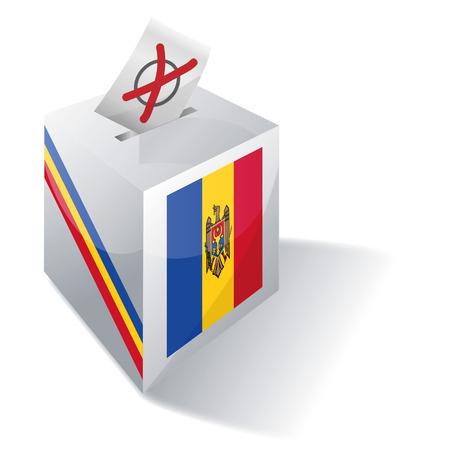 ballot box: Ballot box Moldova