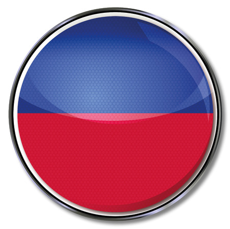 Button Haiti Vector