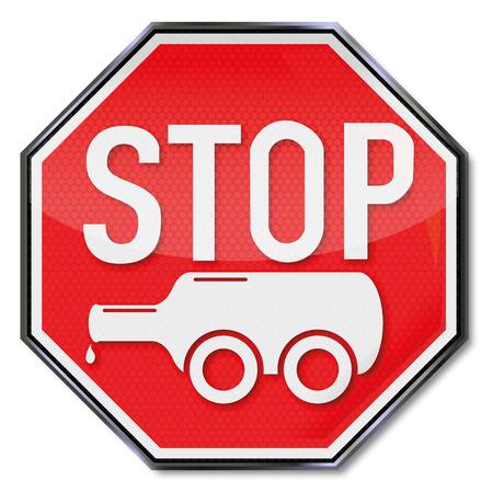 ivresse: Arr�tez le signe bouteille sur roues et l'alcoolisme