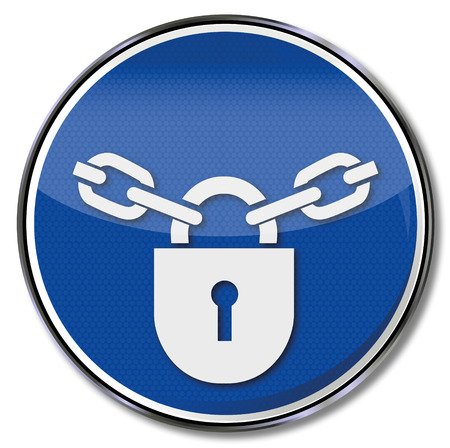 mandatory: Mandatory sign locks, shut off, complete and locker
