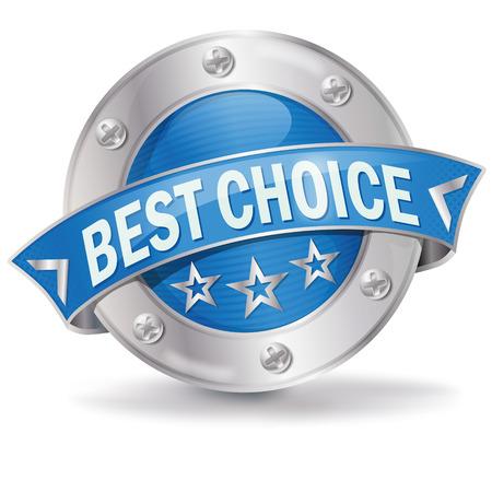 Button best choice  Vector