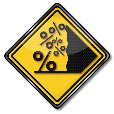 accident rate: Percent sign with avalanche
