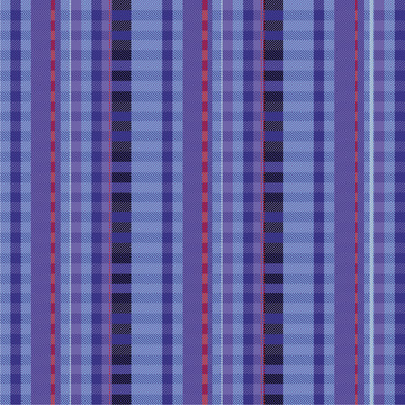 restrained: Fabric with blue pinstripe