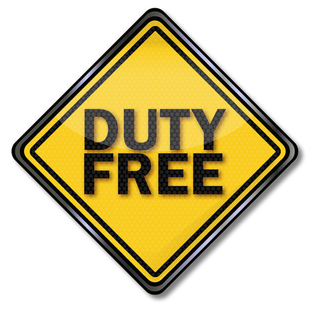 Shield duty free Vector
