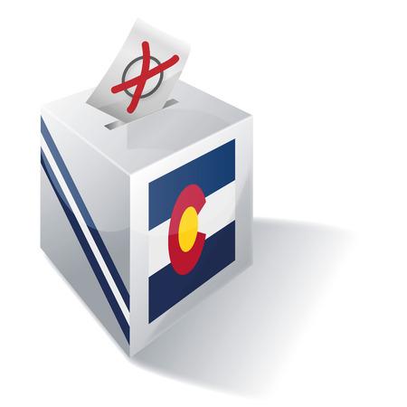 absentee: Ballot box Colorado