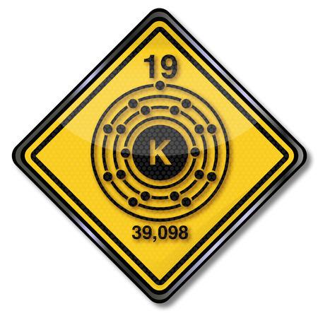 enlaces quimicos: Reg�strate qu�mica car�cter de potasio