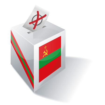 absentee voting: Ballot box Transnistria