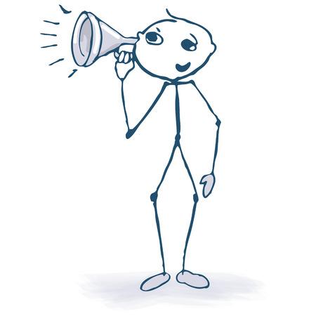 pronunciation: Stick figure with funnel