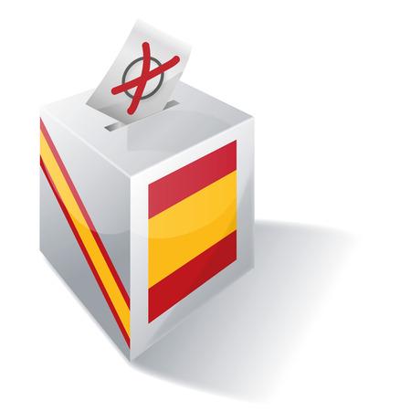 spaniards: Ballot box Spain