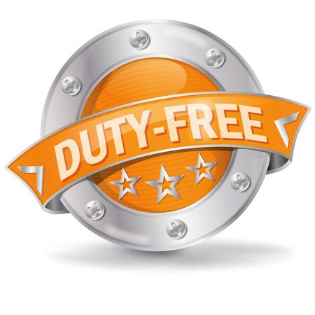 vat: Button duty free
