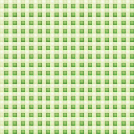 Small patterned green fabric with checks  Vector