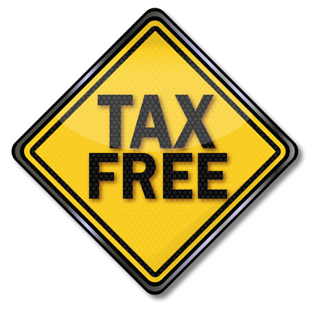 tax policy: Sign caution tax free