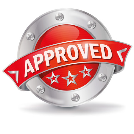 approval button: Button approved