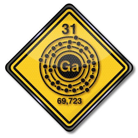 enlaces quimicos: Car�cter qu�mica Firme y caracteres qu�micos de galio