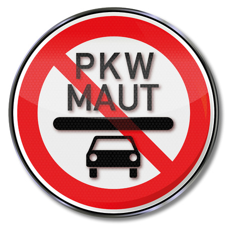 rip off: Sign car toll in Germany