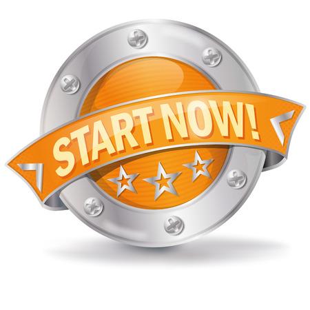 empezar: Botón empezar ahora