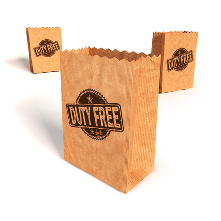fortunately: Paper bags with duty free