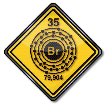 enlaces quimicos: Firma qu�mica car�cter bromo
