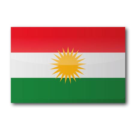 southeastern asia: Flag of Kurdistan