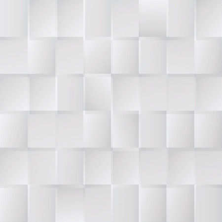 White pattern and glass blocks Vector