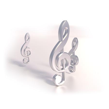 music theory: Three clef and music