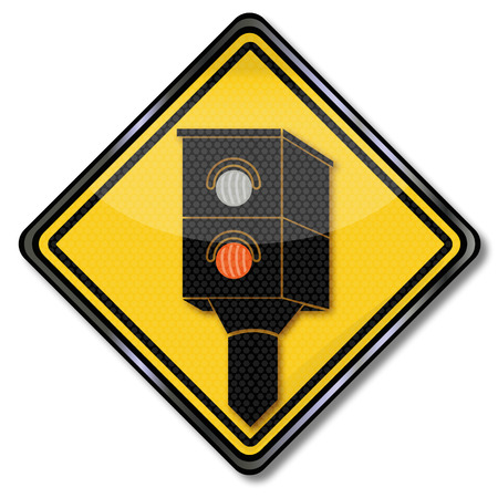 rip off: Sign Caution radar and lightning