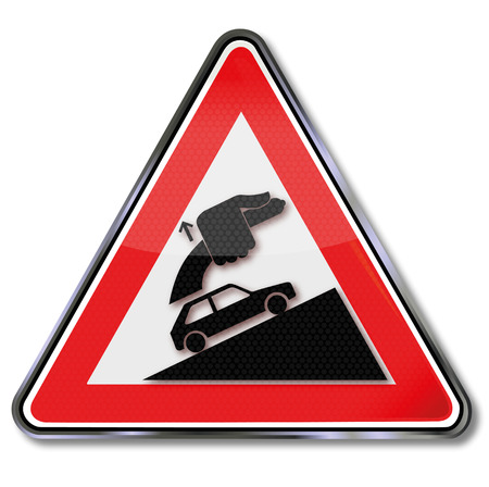 slowness: Caution always tighten handbrake
