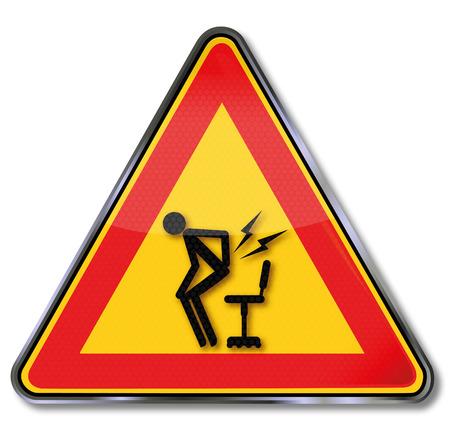 levantandose: Muestra de la precauci�n dolor repentino por levantarse