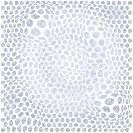 wall cell: White dot pattern