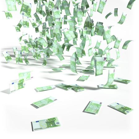 severance: Dinero ca�do del cielo de los billetes de 100 euros