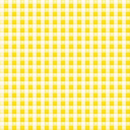 Small yellow patterned fabric with checks Vector