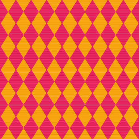 diamond pattern: Cloth with red and yellow diamond pattern