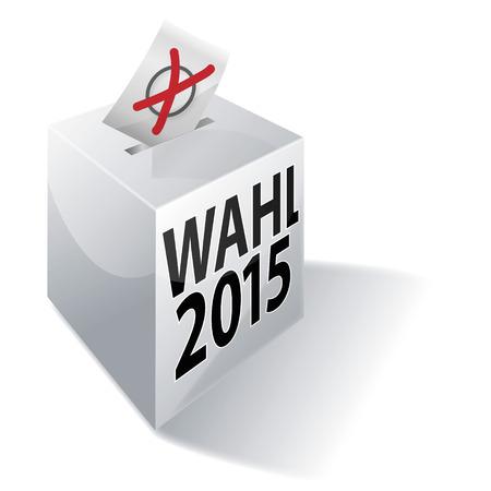 absentee: Ballot box in 2015