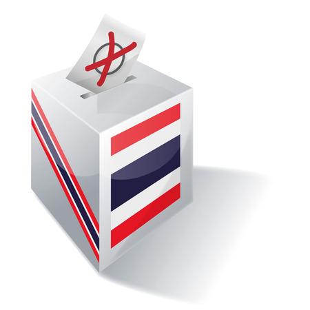 Ballot box Thailand