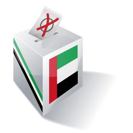 Ballot box United Arab Emirates