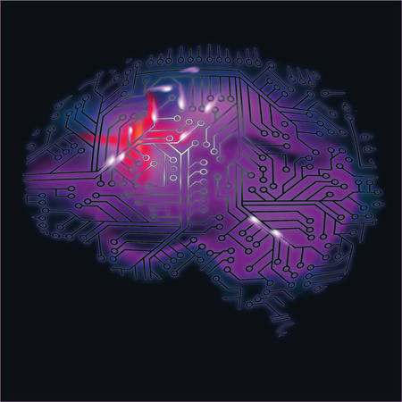 Brain, computer and brain bleeding