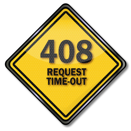 timeout: Computer shield 408 Request Time-out