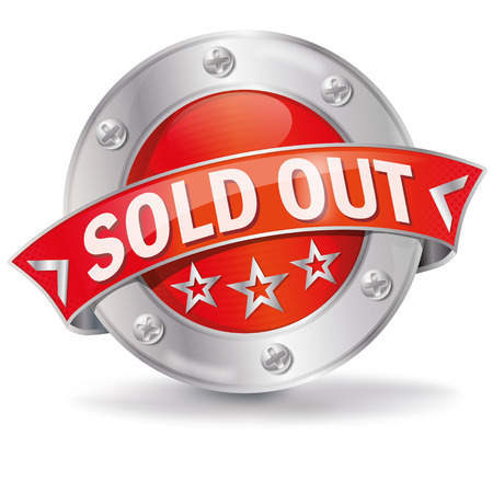 sold out: Button sold out