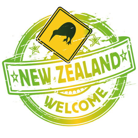 Rubber stamp welcome in New Zealand