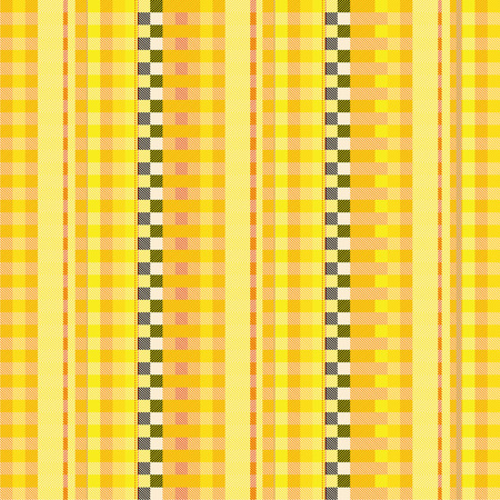 Fabric with yellow pinstripes