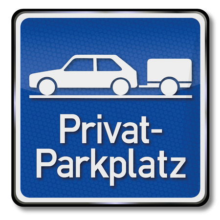 discharge time: Blue shield private parking for cars with trailers