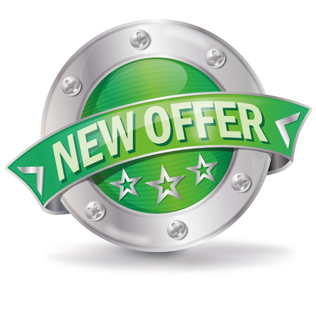 online specials: Button new offer