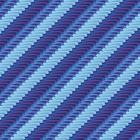 dry cloth: Fabric with blue stripe pattern