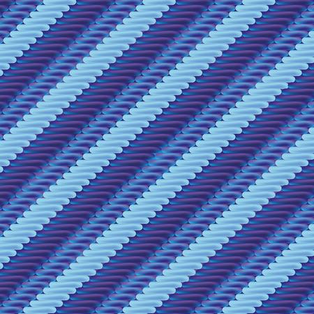 stripe pattern: Tessuto con striscia blu modello Vettoriali