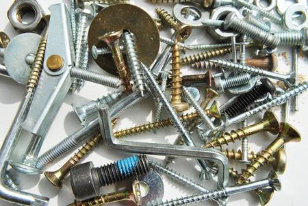 lenticular: Screws Stock Photo